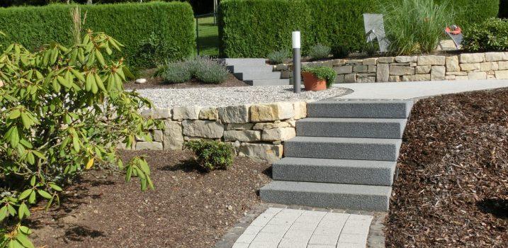 Treppen und Wegebau